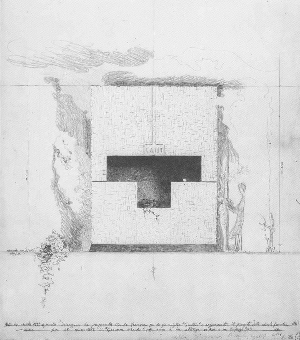Scarpa-Carlo_Galli-Tomb_Elevation