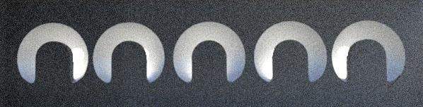 Circular slots