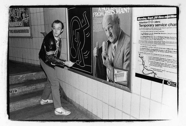 Haring Subway Drawings Keith Haring Subway Art