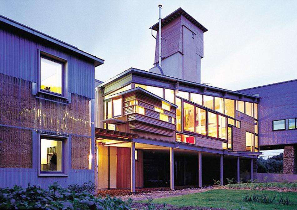 Straw bale house london grand designs